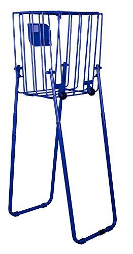 HOPARAZZI Elite 65 Tennis Ball Basket, Cobalt Blue