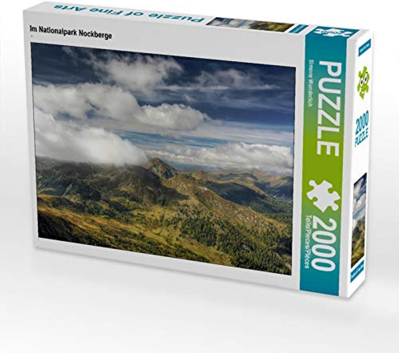 CALVENDO Puzzle Im Nationalpark Nockberge 2000 Teile Lege-Größe 90 x 67 cm Foto-Puzzle Bild von Simone Wunderlich B07Q45X7PZ Förderung | Erste Qualität