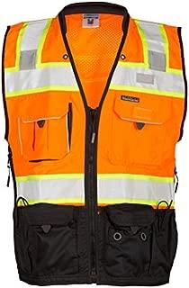 ML Kishigo S5002-5003 Premium Black Series Surveyors Vest