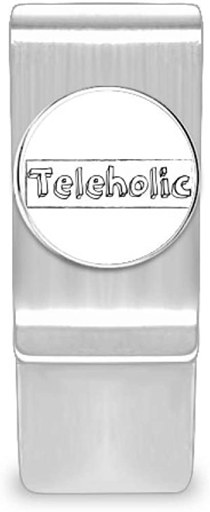 Stylish Word Teleholic New item Money Clip Cash Card Holder Ranking TOP19 Wallet