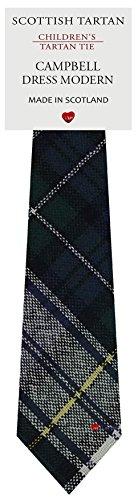 I Luv Ltd Garçon Tout Cravate en Laine Tissé et Fabriqué en Ecosse à Campbell Dress Modern Tartan