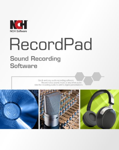 Recordpad Professional Sound Recorder Software [PC Online code]