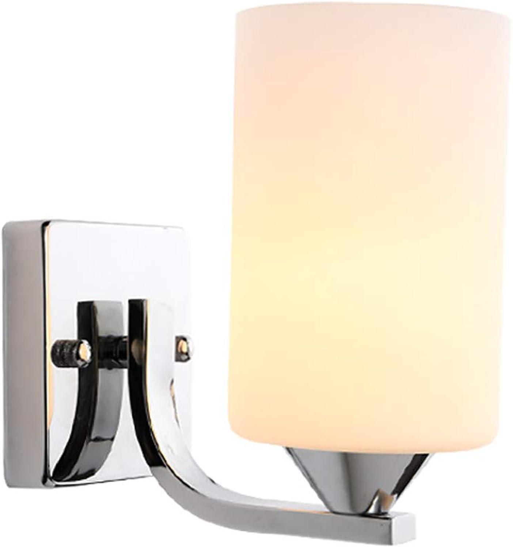 KAILUN Personalidad Creativa Lámpara de Parojo Moderno Minimalista Americano País Dormitorio Lámpara de la cabecera Estudio Pasillo Balcón Escalera Luz 220V