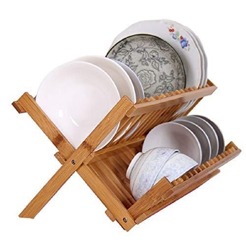 HAOLY Kitchen Drain Rack,schüssel Regal,besteckkasten,Kitchen Drain Rack,geschirrablage,abfluss Lagerregal,Drain Rack,bequem Einfache-a 43x49cm(17x19inch)