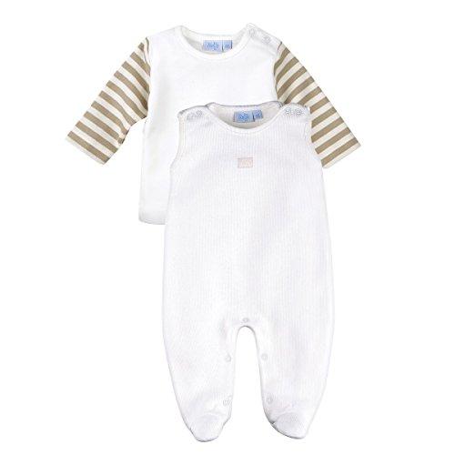 FEETJE Strampler mit Shirt Baby Baby-Set, Größe 44, weiß