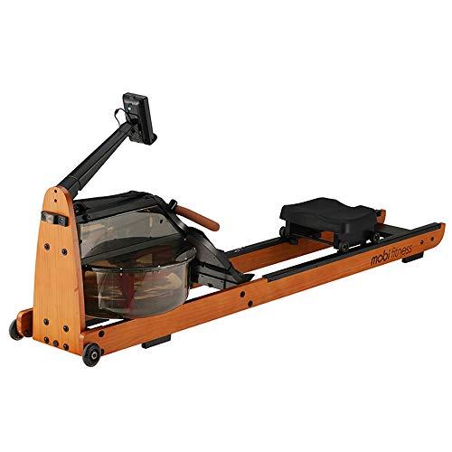 Mobi Máquina de Remo Plegable-máquina de Remo para el hogar, máquina aeróbica-máquina de Entrenamiento físico en Interiores Materiales Naturales Almacenamiento Conveniente