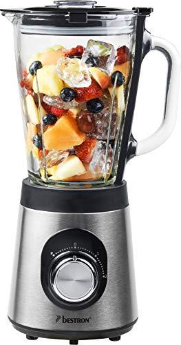 Bestron ABL500S Kitchen Heroes blender, kunststof, 1,5 liter