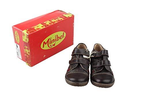 Minibel Kinder Schuhe Halbschuhe Gr. 32 schwarz-braun Neu