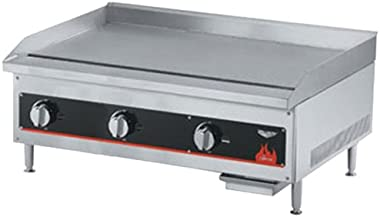 "Vollrath 36"" Gas Thermostatically Controlled Flat Top Griddle - Cayenne Series"
