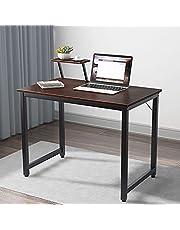 sogesfurniture Computer Desk with Shelf Sturdy Office Desk Meeting Desk Training Desk,BHCA-WK-JK