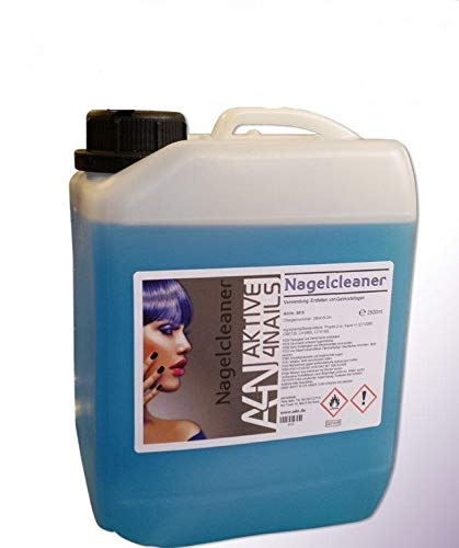 Kanister Cleaner für Gel Nägel zum entfetten und reinigen bei der Nagel-Modellage (2500ml) Nail Cleaner Blau für Gelnägel 1 Liter