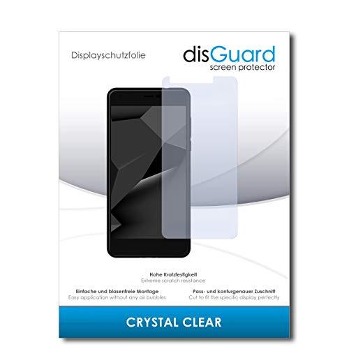 disGuard® Bildschirmschutzfolie [Crystal Clear] kompatibel mit Blaupunkt SL Plus 02 [2 Stück] Kristallklar, Transparent, Unsichtbar, Extrem Kratzfest, Anti-Fingerabdruck - Panzerglas Folie, Schutzfolie