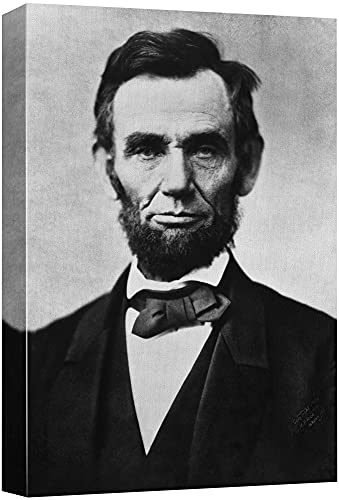 """Pessoas inspiradoras na história, Abraham Lincoln, 12"""" x 18"""""""