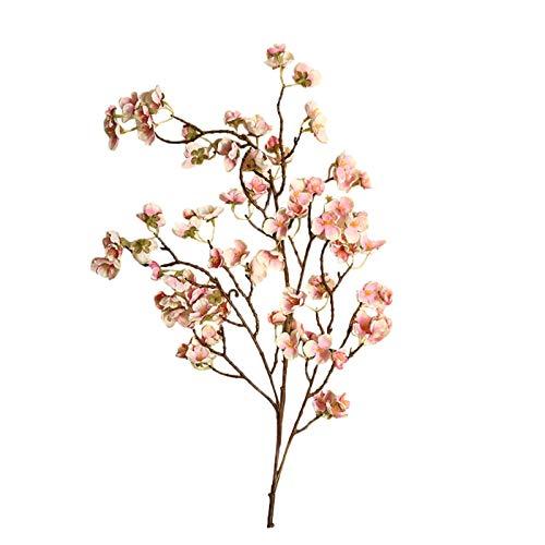 Zxebhsm Künstliche Blumen Künstliche Kirsche Blumen Pfirsich Blüte Gefälschte Seide Blume Hause Hochzeit Party Floral Bouquet Decor Geschenk Frische Fotografie Requisiten (Farbe : D)