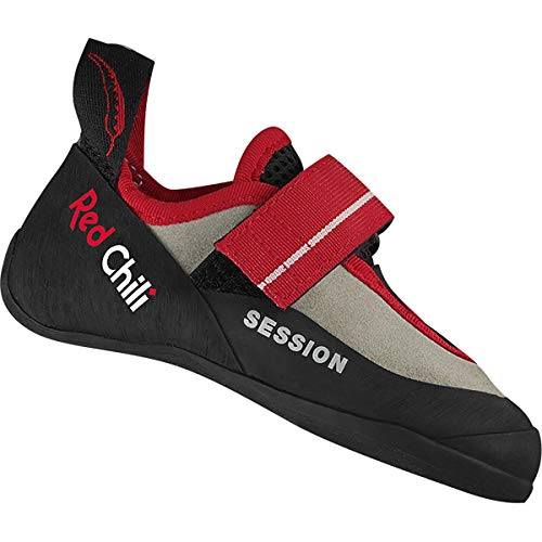 Red Chili Kinder Session 4 Kletterschuhe, Anthracite-red, EU 26