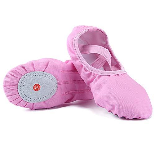 D&S Vertriebs GmbH - Zapatillas de ballet para niña o mujer (talla 22-44)