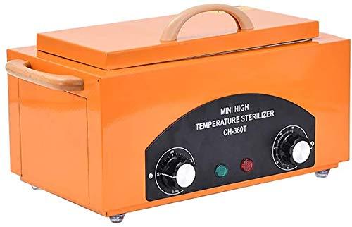 X&JJ Esterilización Calentador de Toallas, Toalla Facial Caliente cálido, Esterilizador de desinfección del gabinete de Belleza Peluquería Nail Salon SPA Inicio Baño,Naranja