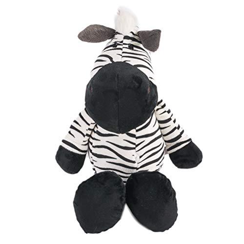 Zebra Plüschtier Cuddle Toys Stofftier Plüschtier Kuscheltier Babykissen Plüsch Tierkissen Figur für Baby Jungen Mädchen Kinder 25CM