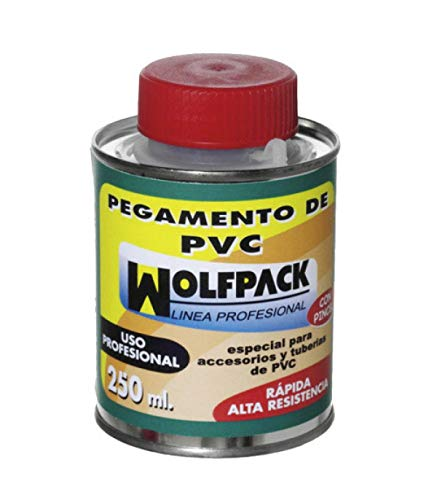 Pegamento PVC Wolfpack Con Pincel 250...