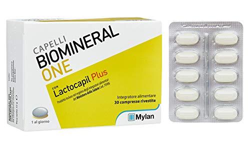 lactocapil plus integratore alimentare per donare forza e vitalità ai capelli 30 compresse