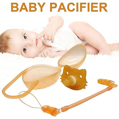 Fopspenen Baby, Soother met Storage Box Imitatie Breast Milk Ontwerp Food Grade Nano-Zilver Silicone voor baby's 0-24 maanden