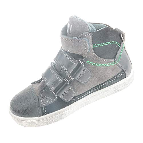 Braqeez Kinderschuhe für Jungen Halbschuh Grey 417531584 (25 EU)