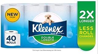 Kleenex Double Length Toilet Paper 40 Rolls