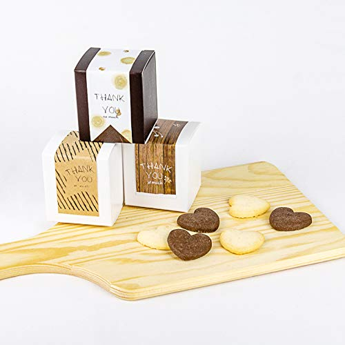 プチBOXクッキー (10個セット) ハートクッキー6枚 プチギフト お礼 ギフト 景品 退職の挨拶 転勤の挨拶 お返し 結婚式 お菓子 粗品 個包装 プレゼント