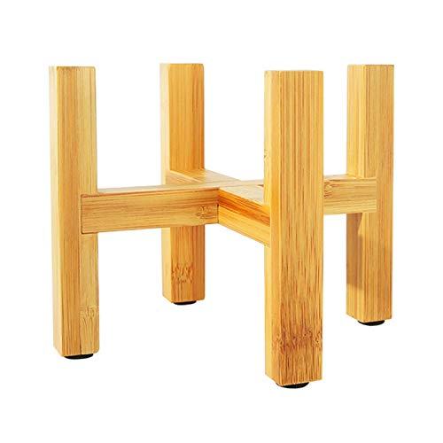 DXY Natural Hecho A Mano De Bambú, Al Aire Libre Interior Patio Decorado Puede Mantener La Bandeja De La Gente, Fácil De Instalar, Resistentes, 12.3cm X 9cm (Size : 19.3x16CM)