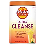 Metamucil 14-Day Cleanse Fiber, Eliminate Waste, 30 Servings, Psyllium Husk Fiber Supplement, Sugar-Free Powder, Citrus Flavored Drink