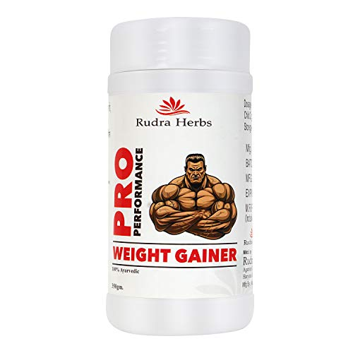 Rudra Herbs Pro Peformance Ayurvedic Medicine Weight And Muscle Gainer