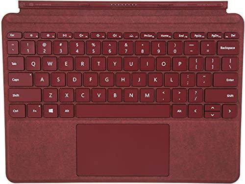Microsoft Surface Go Signature Type Cover tastiera per dispositivo mobile Borgogna QWERTY Tedesco