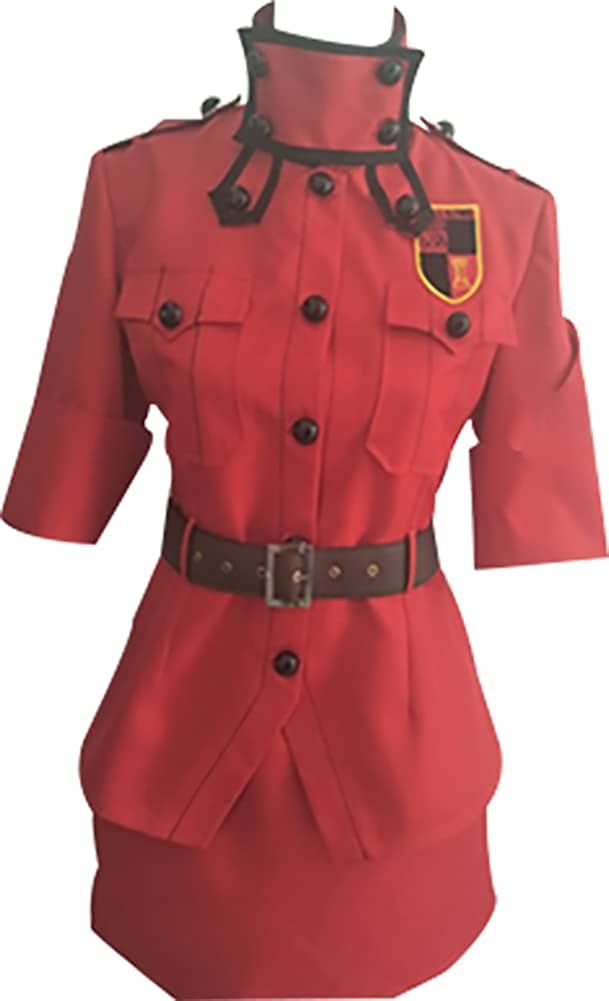 New Cosplay Spring new work Costume for Hellsing Seras red Gorgeous ver Victoria