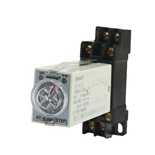 X-DREE Montaje en panel AC 110V 5A 8Pin DPDT 10s Encendido Temporizador Retardo del temporizador(Panel Mounted AС 110 ν 5A 8Pin DPDT 10s Power on Time Delay Timer Relay