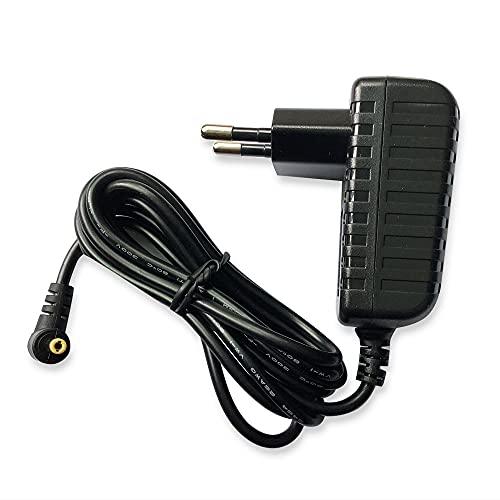 Adaptador de CA Cargador Portátil de Enchufe de Alimentación Compatible con Omron M2 M3 M6 M7 Intelli IT M8 Comfort M300 M400 M500 X4 MIT3, HEM-907 Monitores de Presión Arterial Cargador de Batería
