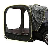カプセル ポップアップテント ワンタッチ 簡単設置 車 連結 車中泊 メッシュ テント ファミリー ソロー キャンプ アウトドア