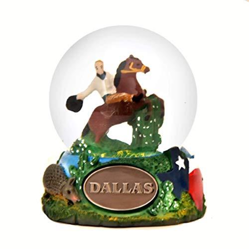 Dallas Texas Snow Globe -65 mm