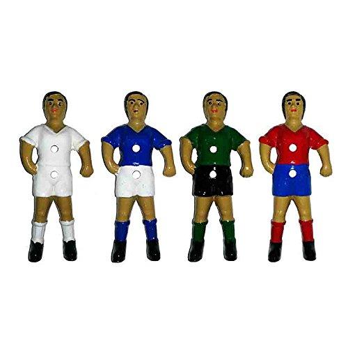 Duguespi Jugador muñeco futbolin Barra 13mm Rojo/Azul 1 unid.