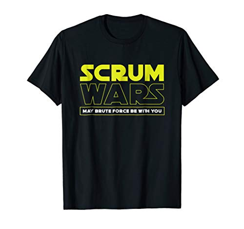 Scrum Wars Funny Rugby Tshirt