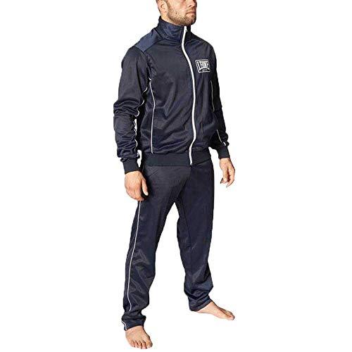 Tuta Sportiva Completa (Giacca e Pantaloni) Leone AB798 Blu (Medium)