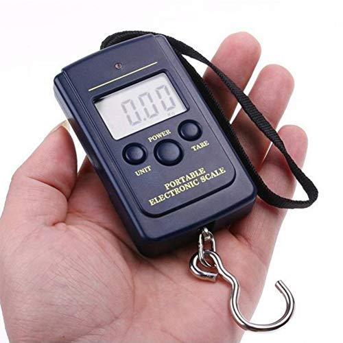 VCXZ Elektronische Digitalwaage Gepäckwaage 0.01kg bis 40kg Kitchen Digital Balance,Black
