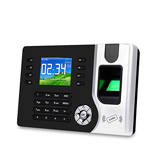 Great Price! XiangXiang 2.8Inch USB/TCP/Lp Biometric RFID Fingerprint Attendance Time Clock Recorder...