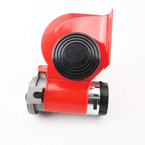 Discover Bargain Car Truck Compact Dual Tone Electric Pump Vehicle Siren Air Loud Horn 12V #US