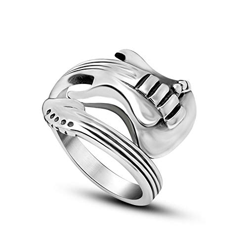 USUASI moda estilo coreano apertura masculina y femenina solo anillo titanio anillo...