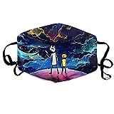 Unisex Nase Mund Staubschutz Morty-Rick Galaxy Verstellbare Mundschutz
