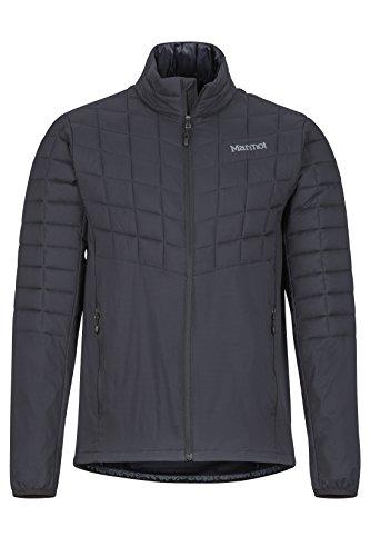 Marmot Herren Ultra-leichte Isolierte Winterjacke, Warme Outdoorjacke, Wasserabweisend, Winddicht Featherless Hybrid, Black, M, 74000