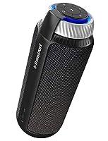 Super Bass: l'altoparlante Tronsmart T6 offre bassi potenti grazie al radiatore passivo collegato ai due driver con funzione subwoofer integrata. I driver audio avanzati da 25 W con DSP ti daranno un suono chiaro e chiaro. È un compagno perfetto nell...