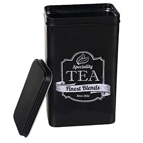Boite métallique pour le Thé noire