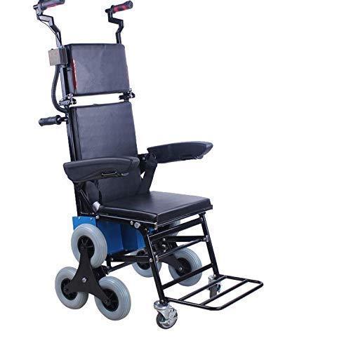 Inicio Accesorios Ancianos Discapacitados Silla de ruedas eléctrica Silla de ruedas eléctrica para subir escaleras Silla de ruedas portátil para subir y bajar escaleras Subir y bajar escaleras Coch