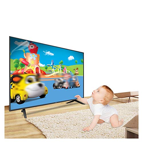 GHHZZQ TV de Protector de La Pantalla Material de Pet Reducir La Radiación Protección para Los Ojos Anti Blue Light Filter Alta Transmitancia de Luz Fácil de Montar